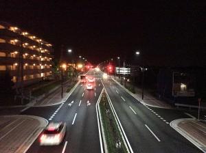 東合川野伏間線道路照明設備工事
